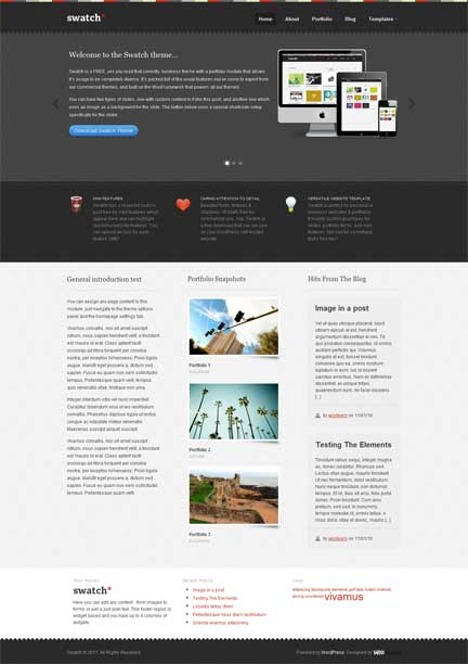 8 Great and Free WordPress Themes